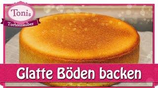 getlinkyoutube.com-Kuchen mit glatter Oberfläche backen - glatte Tortenböden // Tipps // Tonis Tortenzauber #0012