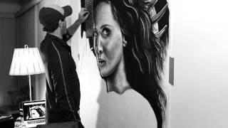 getlinkyoutube.com-Hunger Games Jennifer Lawrence Drawing HUGE