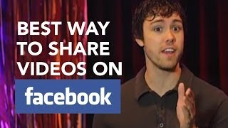 getlinkyoutube.com-Best Way to Share Videos On Facebook