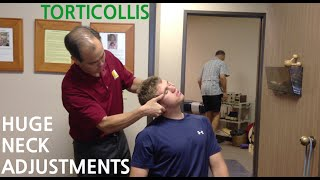 getlinkyoutube.com-EXTREME neck pain & TORTICOLLIS is GONE with TWO HUGE NECK ADJUSTMENT's