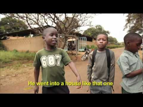 funny african kid talks about commando