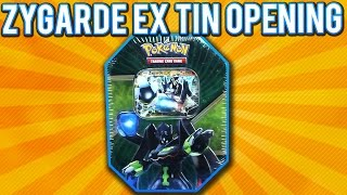 getlinkyoutube.com-Pokemon Cards - Zygarde EX Tin Opening