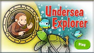 getlinkyoutube.com-Curious George -  Undersea Explorer Full Episodes Cartoon Game HD 1080p