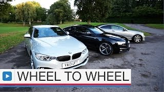 getlinkyoutube.com-Audi A5 coupe vs BMW 4 Series coupe vs Mercedes C-Class coupe