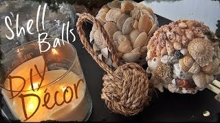 getlinkyoutube.com-DIY Décor ♥ Shell Ball