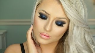 getlinkyoutube.com-Urban Decay Gwen Stefani Palette Tutorial | Blue Smokey Eye