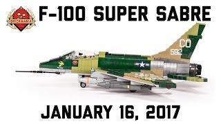 getlinkyoutube.com-F-100 Super Sabre - Custom Military Lego