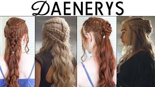 getlinkyoutube.com-Game of Thrones Season 6 Hair Tutorial - Daenerys Targaryen