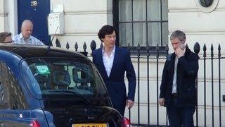 "getlinkyoutube.com-On Set with ""Sherlock"" Series 3, 'His Last Vow'"