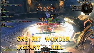 Neverwinter TR Maxed Out One Hit Wonder Instant KILL HD