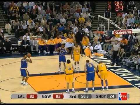 Baron Davis (30pts/9rebs/7asts) & Stephen Jackson (29pts) vs. Lakers (2008)