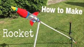 getlinkyoutube.com-How to Make an Airsoft Rocket Out of Plastic Bottle (Water Rocket) - Tutorial