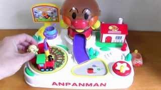 getlinkyoutube.com-Anpanman Chibikko Land★アンパンマン ちびっこランド コロロン ドキンちゃんでやってみた!
