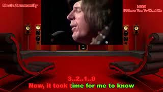 Karaoke - LOBO - I'd Love You To Want Me (1972)