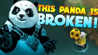 Mobile Legends Panda Plays Panda for the First Time! (Akai)