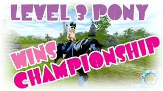 getlinkyoutube.com-Level 3 pony WINS championship Star Stable