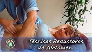 getlinkyoutube.com-Masaje reductor de abdomen | Massage to reduce belly fat