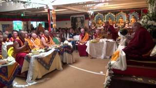 getlinkyoutube.com-Long Life Puja with the Five Dakini Offering to Lama Zopa Rinpoche