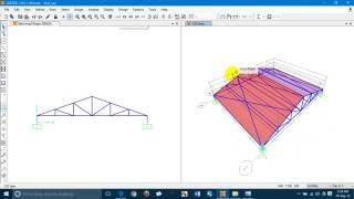 getlinkyoutube.com-Roof Truss design using SAP2000 by Shanto,MIST