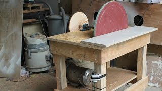 getlinkyoutube.com-Disk Sander Homemade - 20'' Disc