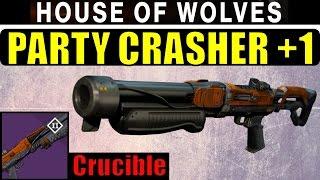 getlinkyoutube.com-Destiny Party Crasher +1 Review! | BEST NEW SHOTGUN? | Crucible Shotgun