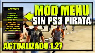 getlinkyoutube.com-MOD MENU GTA 5 SIN PS3 PIRATA 1.27 TUTORIAL HACK GTA V ONLINE  DINERO Y RP INFINITO NO JAILBREAK