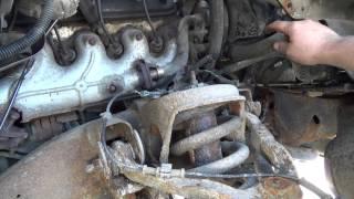 getlinkyoutube.com-Fixing steel brake lines on the sierra
