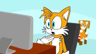 "getlinkyoutube.com-Tails Reacts To ""What Does The Fox Say?"""