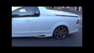 HSV Maloo R8 Supercharged ACCELERATION