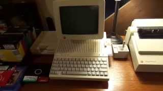 The Apple IIc and ImageWriter II; Desktop Publishing In The 1980s