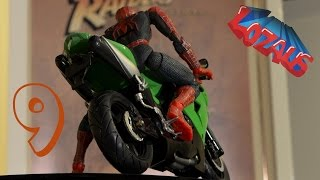 getlinkyoutube.com-SPIDERMAN STOP MOTION Action Video Part 9