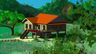 getlinkyoutube.com-Thai house modern style