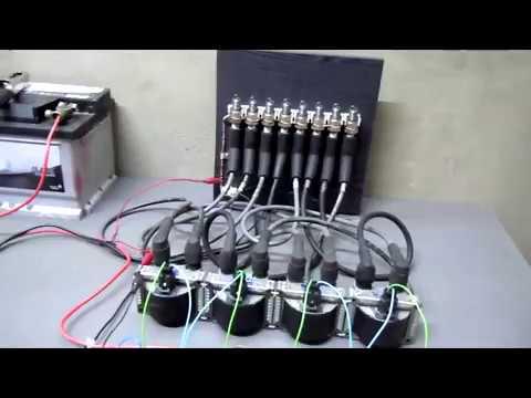 Внедорожное зажигание на Land Rover V8 версия 1 0 Стендовое испытание трейлер