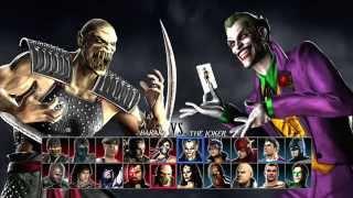 Mortal Kombat Vs DC Universe 2 Player Gameplay Part 1