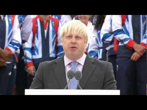 Mayor of London Boris Johnson's Speech - Our Greatest Team: Athletes' Parade Live - BBC One