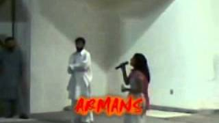 SALMA SHAH  ANGRI MODE IN SHOW (FIGHT)