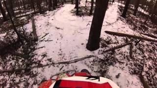 getlinkyoutube.com-trx400x in the snow