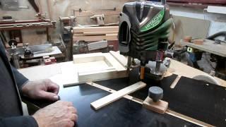 getlinkyoutube.com-Поделки из дерева на фрезерном станке. Сувенирный бочонок.