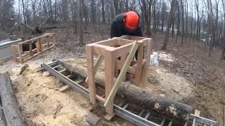 getlinkyoutube.com-Wooden Sawmill