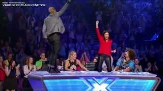 getlinkyoutube.com-Tee  Somebody To Love   Auditions   The X Factor USA American 2014