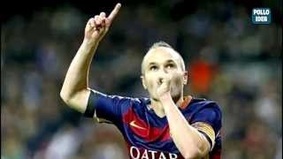 getlinkyoutube.com-Iniesta Soccer Masterclass - El Clásico Real Madrid vs Barcelona 21-NOV-15