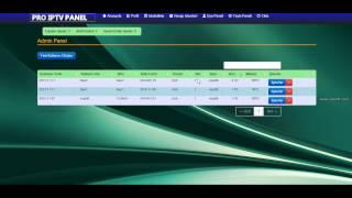 Pro Iptv Panel V3 Tanıtım Videosu