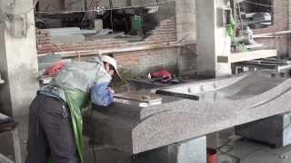 getlinkyoutube.com-Granite manufacturing in China 3-2011