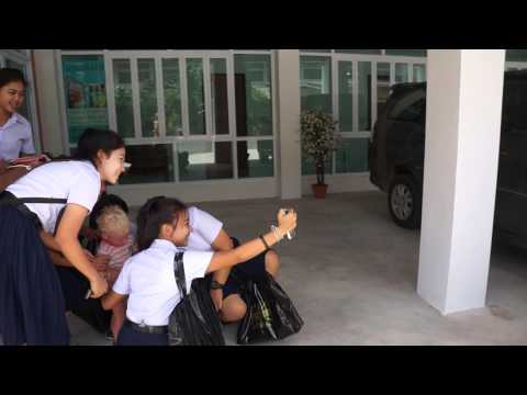 Thai Surat Thani school girls and Roma part 2
