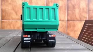 getlinkyoutube.com-Bruder Scania 8x8 truck with sound and lights [MAGOM HRC]
