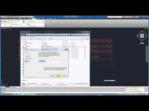 AutoCAD 2012 Tutorial Basico Starter 6 / Pasar de cad a Photoshop o EPS