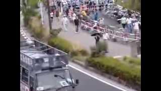 getlinkyoutube.com-2013 8/25 横須賀市日教組全国集会に抗議する右翼団体