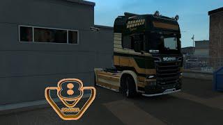 getlinkyoutube.com-Euro Truck Simulator 2 Scania V8 Sound Mod (1.21.x / 1.22.x)