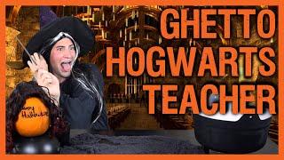 getlinkyoutube.com-Ghetto Hogwarts Teacher | Sheedra #SheedraGoesToWork