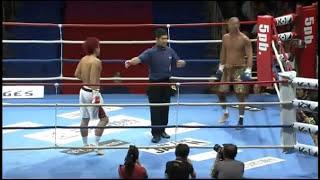 getlinkyoutube.com-K-1 MAX 長島☆自演乙☆雄一郎 vs 拳月